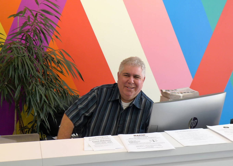 Information Desk at SF LGBT Center