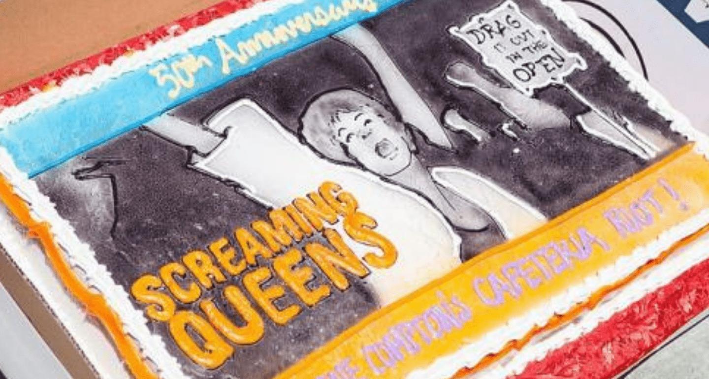 Compton's Cafeteria Riot Cake