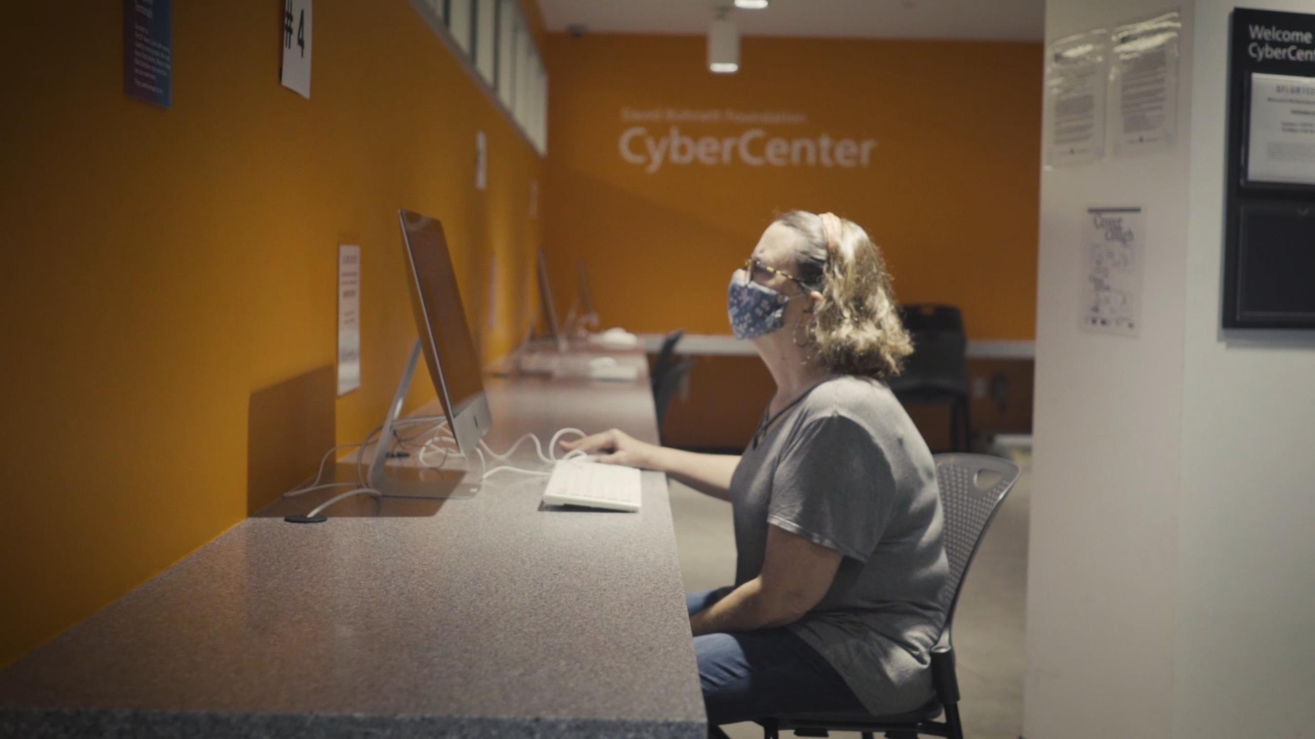 cyber center covid