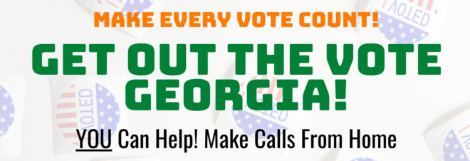 Get out the vote Georgia